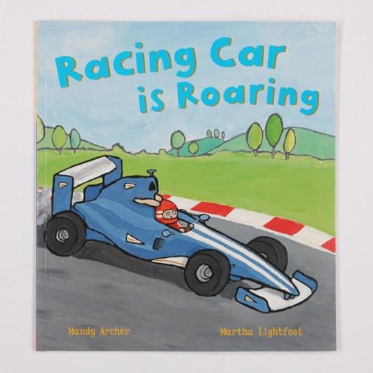 Blue Duck Books Racing Car Is Roaring