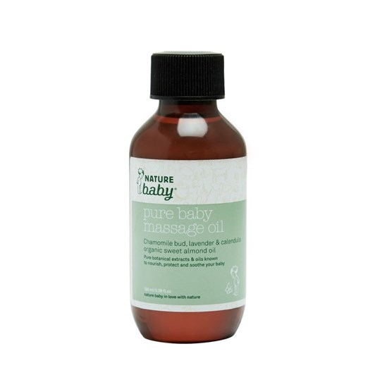 Nature Baby Organic Baby Massage Oil 100ml