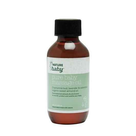 Nature Baby Organic Baby Massage Oil 100ml