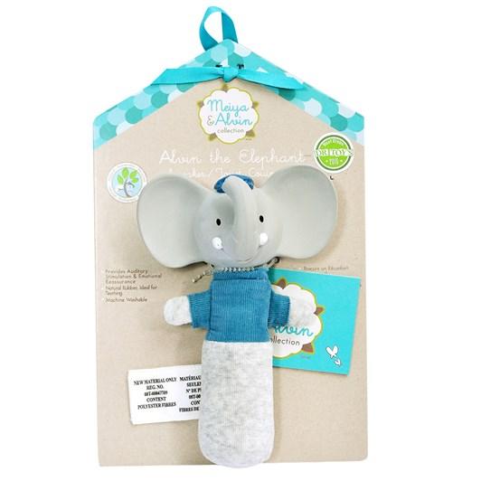 Meiya & Alvin Squeaker Toy-Rubber