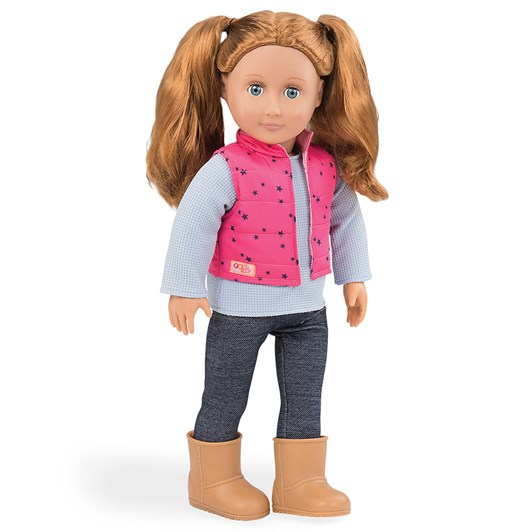 Our Deneration Dolls Trekking Star Vest with Trousers Outfit