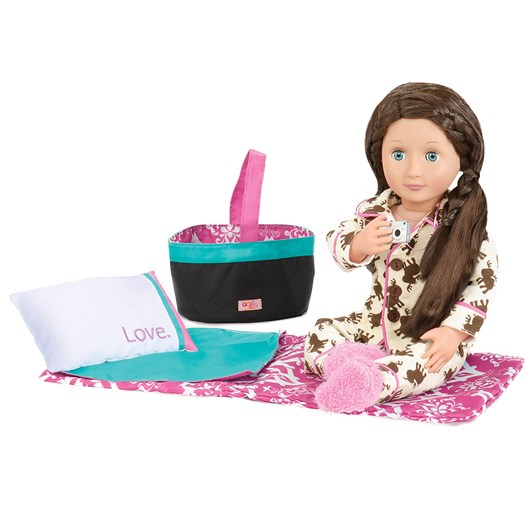 Our Generation Dolls Accessory Sleepover Party Set