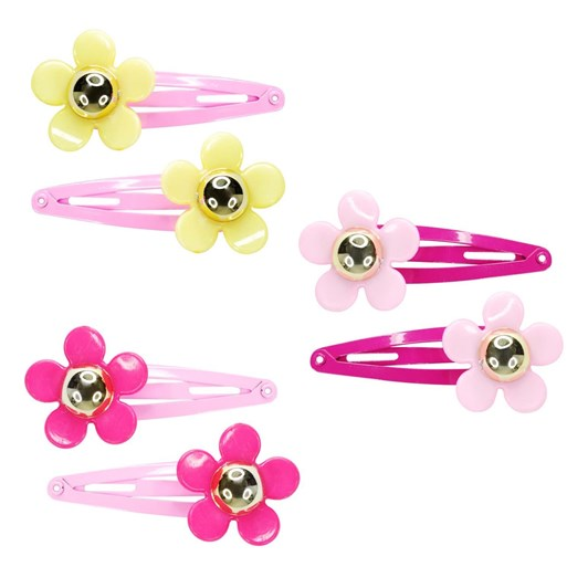 Pink Poppy Shimmer Butterfly Clawclips