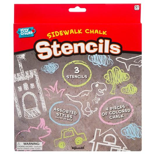 SSS Sidewalk Chalk Stencils