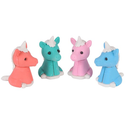 Tiger Tribe Unicorn Erasers