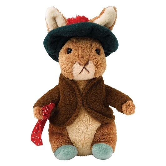 Peter Rabbit Benjamin Bunny 16cm Soft Toy