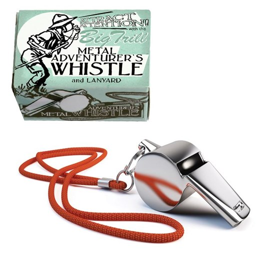 House Of Marbles Adventurer's Big Thrill Whistle