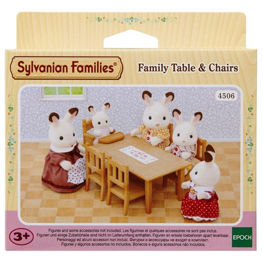Sylvanian Familes Family Table And Chair