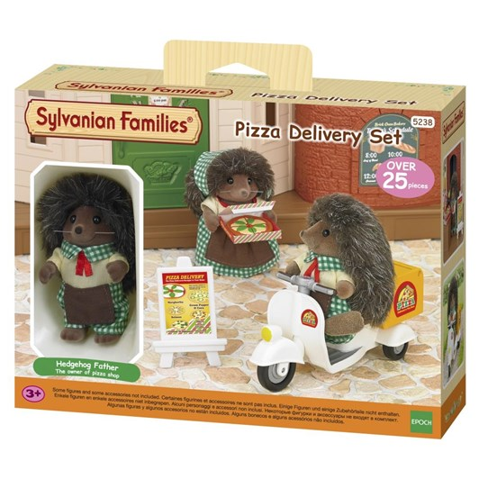 Sylvanian Familes Pizza Delivery Set