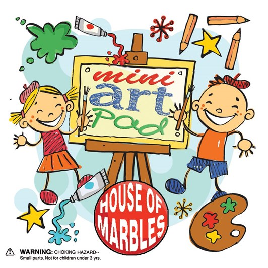 House Of Marbles Mini Art Pad