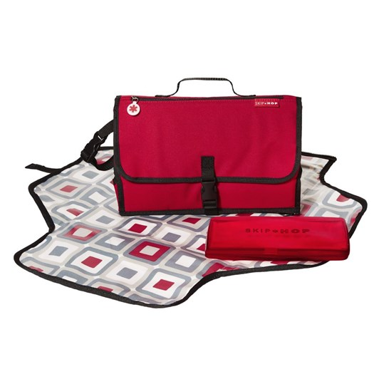 Skip Hop Pronto Mini Changer Red