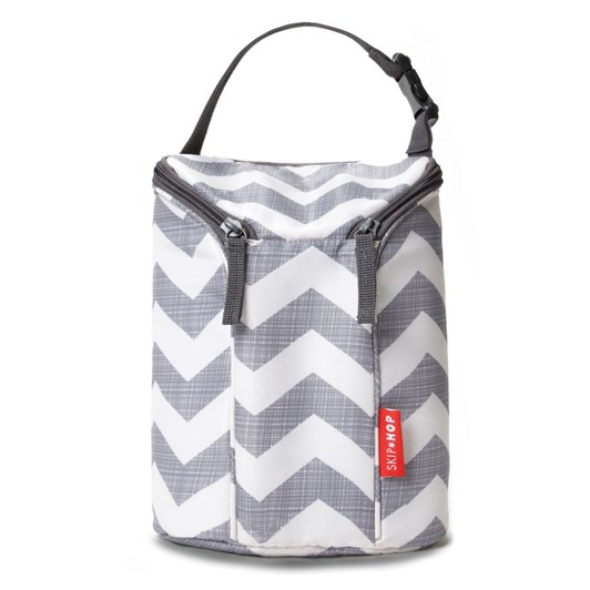 Skip Hop Double Bottle Bag-Chevron