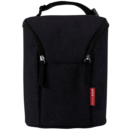 Skip Hop Double Bottle Bag-Black