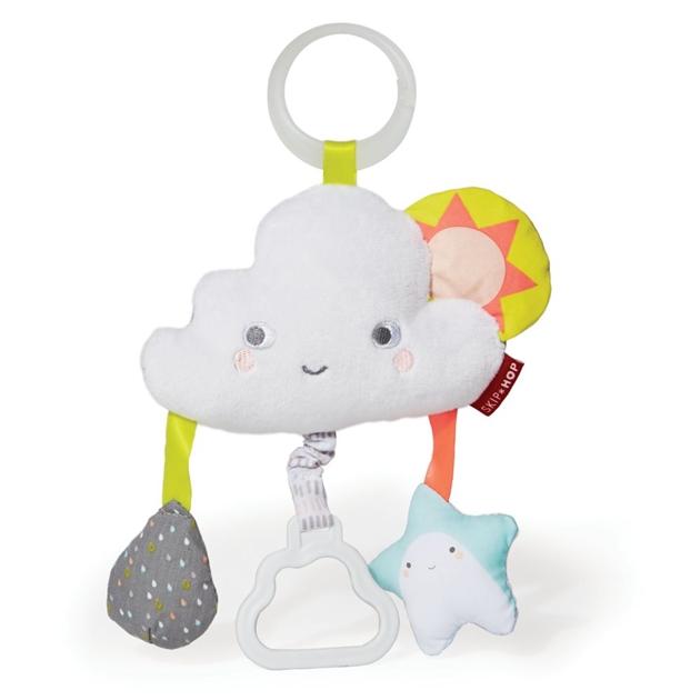 Skip Hop Silver Lining Cloud Jitter Stroller Toy -