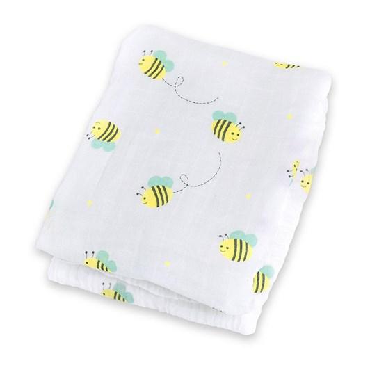Lulujo Muslin Wrap - Bumbling Bee