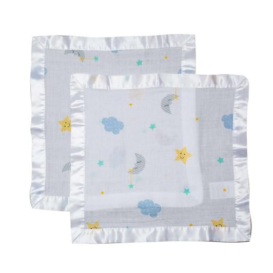 Lulujo Muslin Security Blanket Sweet Dreams