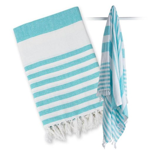 Lulujo Turkish Towel - Ocean Blue