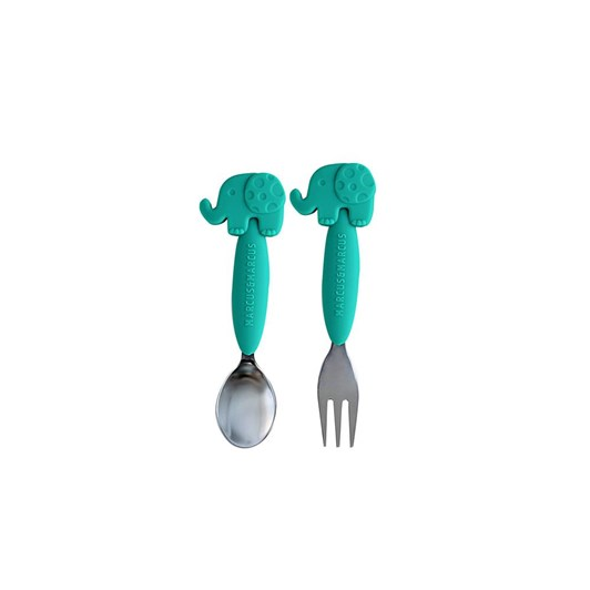 Marcus & Marcus Spoon &  Fork Set Elephant