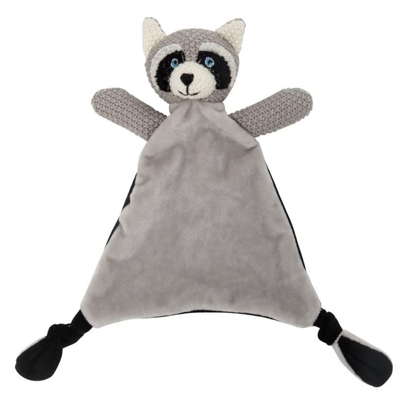 Lily & George Wild Ones Raccoon Comforter -