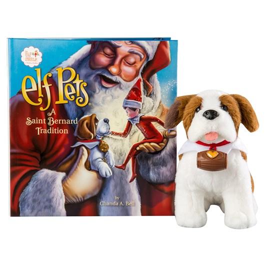 Elf On The Shelf Saint Bernard