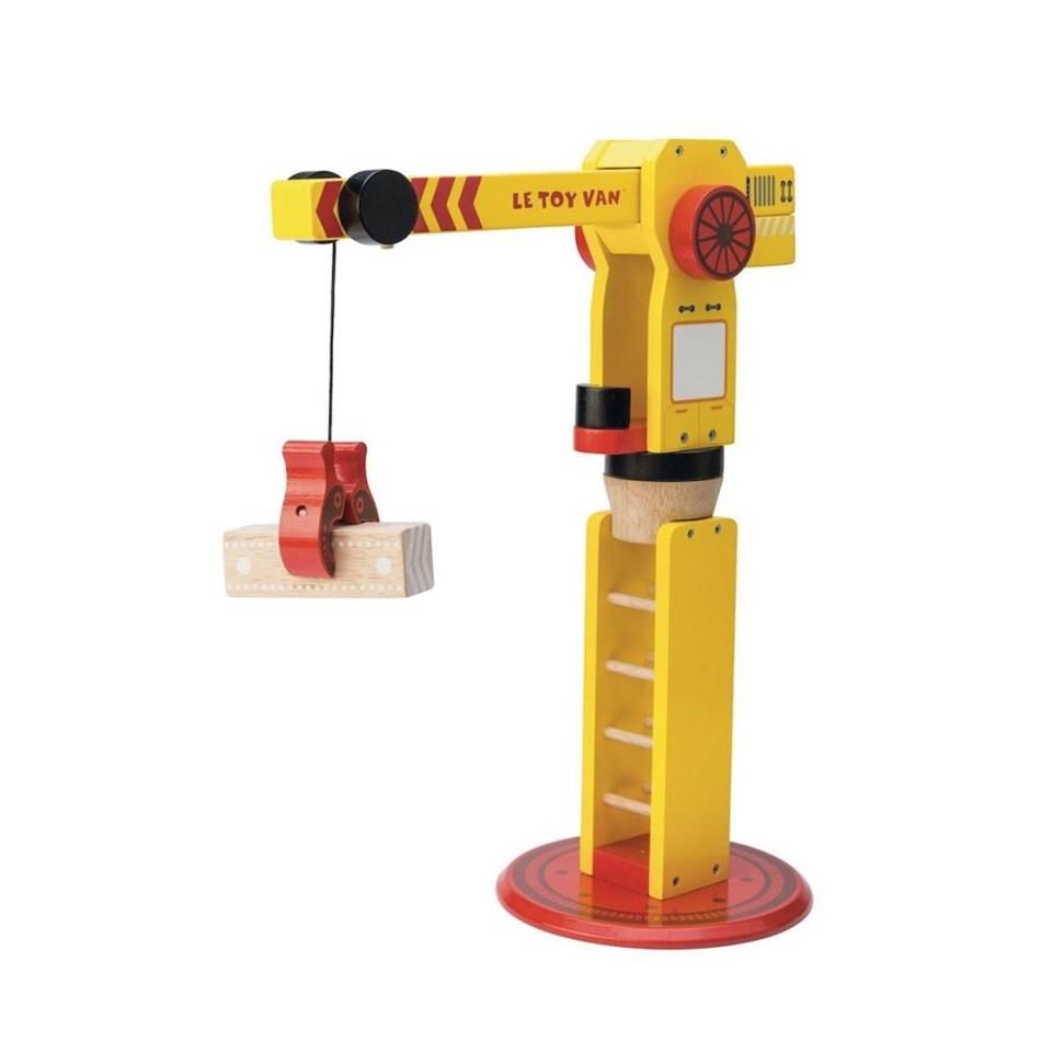 Le Toy Van The Big Wooden Crane - New -