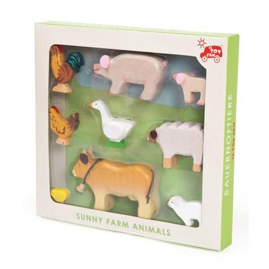 Le Toy Van Animal Set 9 Pcs