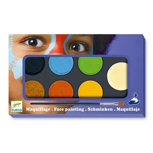 Djeco Maquillage - Palette 6 Colours- Natural