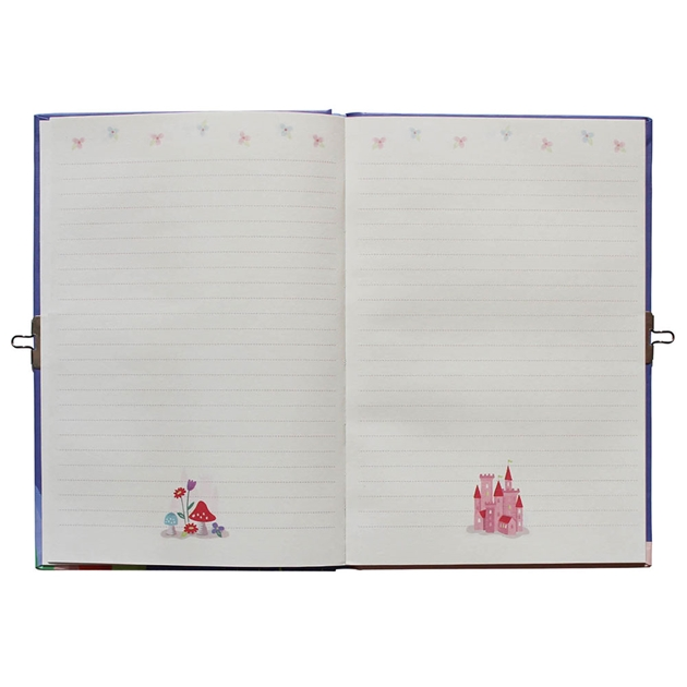 Tiger Tribe Unicorn Rainbow Lockable Diary - na