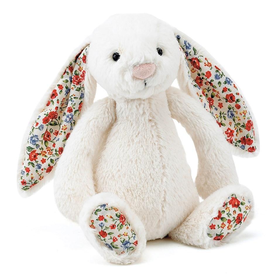Jellycat Blossom Bashful Cream Bunny Small -