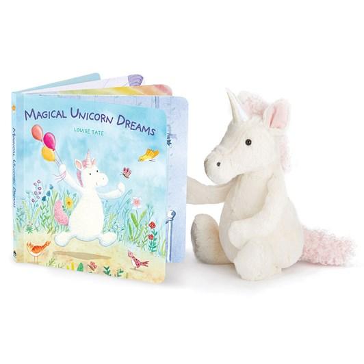 Jellycat Unicorn Dreams (Bashful Unicorn Book)