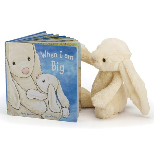 Jellycat When I Am Big (Bashful Bunny Book)