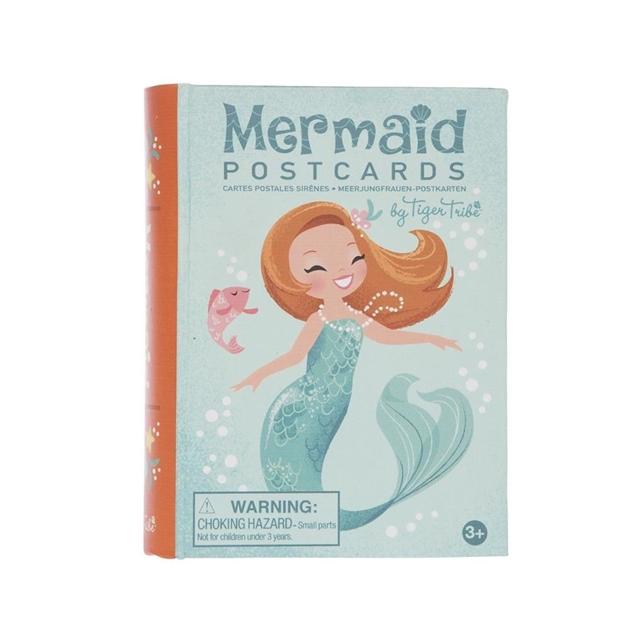Tiger Tribe Mermaid Postcards - na