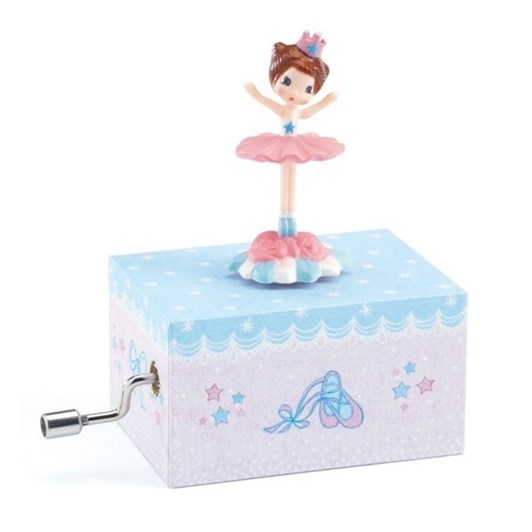Djeco Musical Box-Ballerina on stage