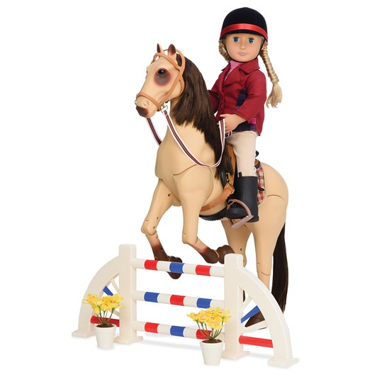 Our Generation Dolls  Accessory Set Deluxe - Equestrian Riding Set