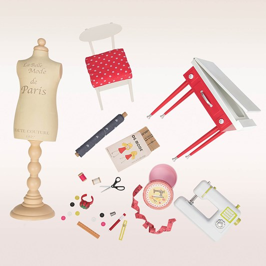 Our Generation Dolls  Og Accessory Set Deluxe - Dressmaking Set