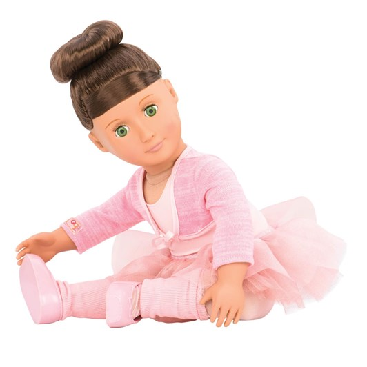 """Our Generation Dolls 18"""" Deluxe Doll W Book - Sydney Lee"""