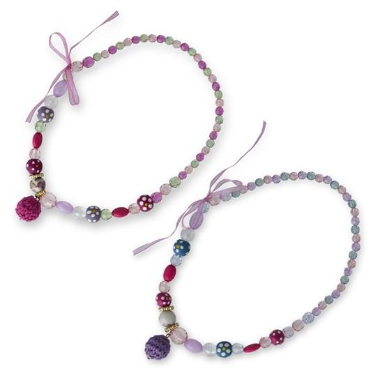 Pink Poppy Vintage Princess Necklace