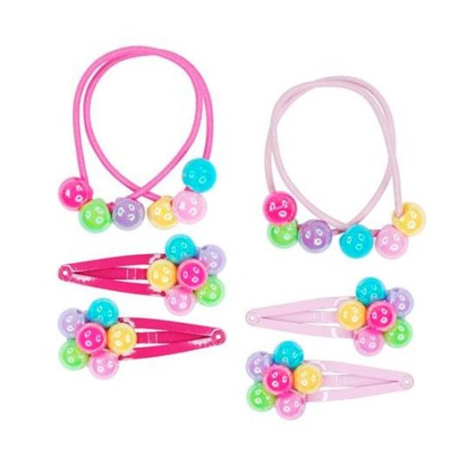 Pink Poppy Carnival Balloon Hair Accessory Set