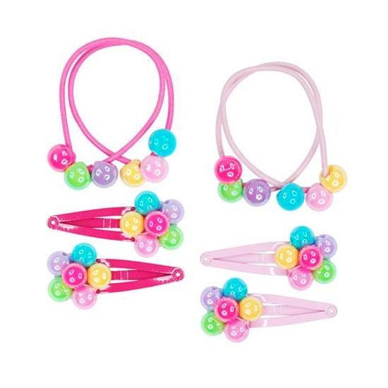 Pink Poppy Carnival Balloon Hair Accessory Set -