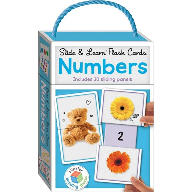 Little Hand Building Blocks Slide & Learn Flash Cards - Numbers  - na