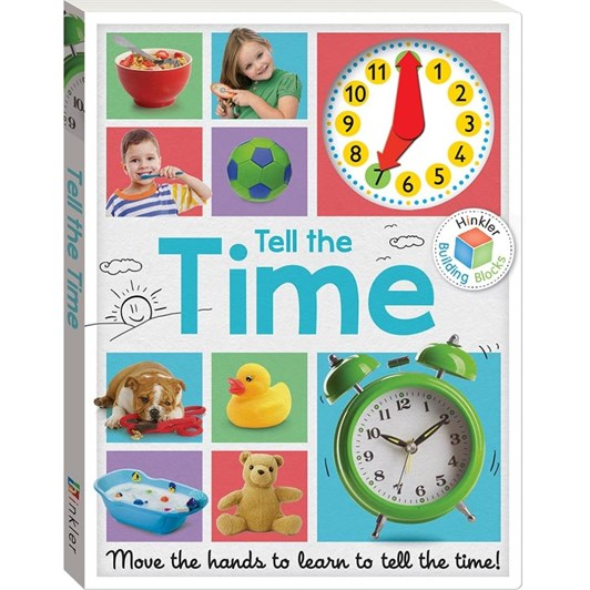 Little Hand  Building Blocks: Tell The Time