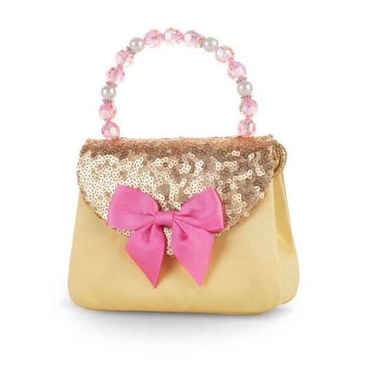 Pink Poppy Forever Sparkle Hard Handbag Yellow