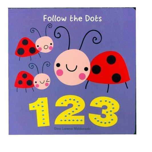 Blue Duck Books Follow The Dots 123 Board