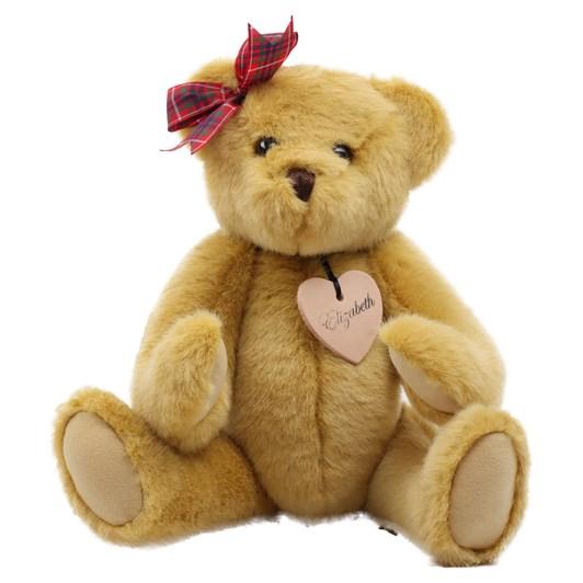 Bear With Us Gold Plush Elizabeth Bear
