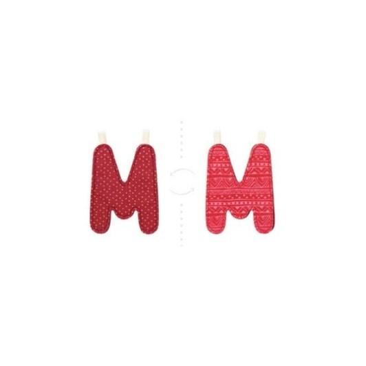 Lilliputiens Alphabet Letter M