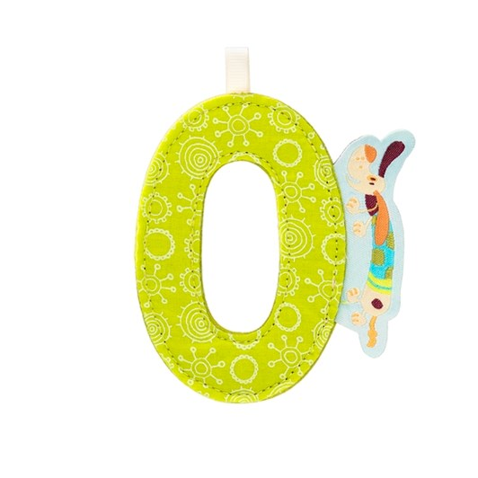 Lilliputiens Alphabet Letter O