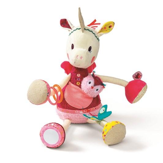 Lilliputiens Louise Cuddly Activity Unicorn