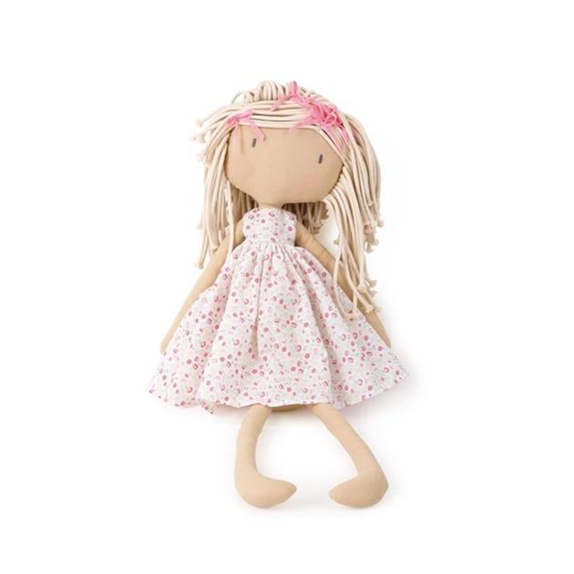 Bonikka Kelsey Sm Pink/White Floral Dress 50Cm -
