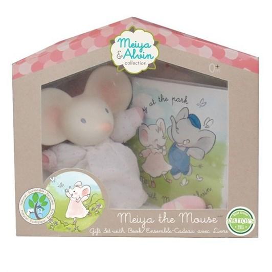 Meiya & Alvin Meiya Mini Toy and Book in Window Gift Box.