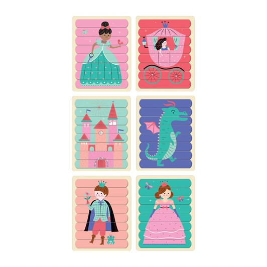 Mudpuppy Enchanting Princess Puzzle Sticks